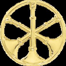 3 Bugle Circle Cutout