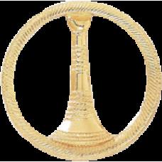 1 Bugle Circle Cutout Texture