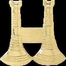 2 Standing Bugle Cutout Texture