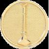 1 Bugle Circle  Hat Badge