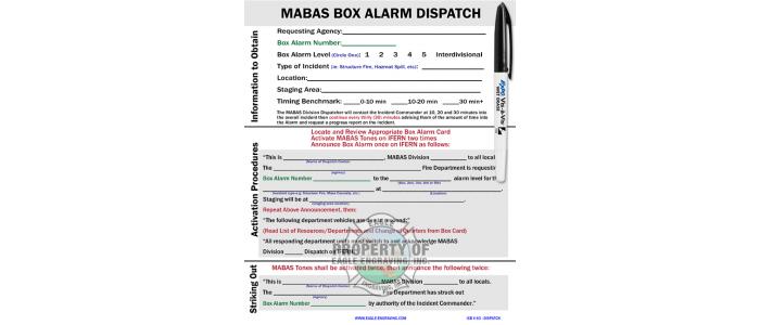 ICB-V63 Dispatch