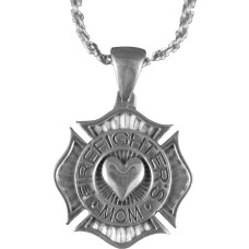 Fire Fighter's Mom Necklace