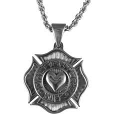Fire Fighter's Wife Necklace