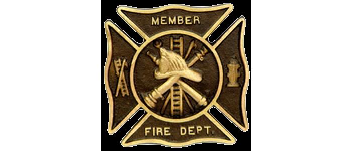 Firefighter Bronze Grave Marker