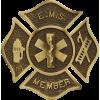 EMS Bronze Grave Marker
