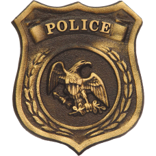 Police Bronze Grave Marker