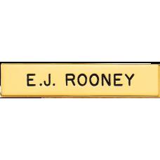 Blackinton Name Badge J2