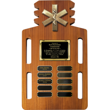 EMS Short Board Perpetual Plaque