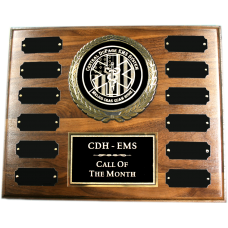 Perpetual Plaque with Logo or Photo