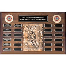 The Bravest Perpetual Plaque