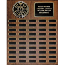 Perpetual Plaque with Large Emblem