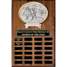 Perpetual Plaque with Oval Casting