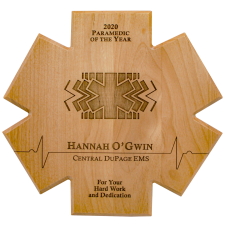 Alder Star of Life Plaque