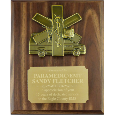 Ambulance Plaque