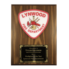 Custom Medallion Plaque