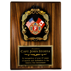 IAFF Shield Plaque