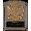Bronze Firefighter Plaque Award