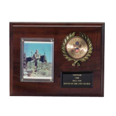 Photo & Disk Plaque