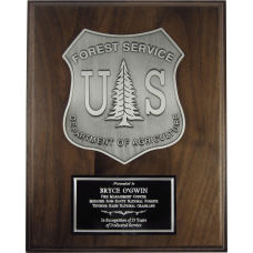 U.S. Forest Service Plaque