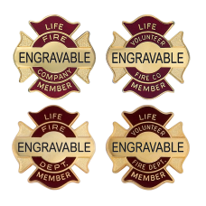 Engravable Life Member Pins