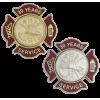 Express Ship Firefighter Service Pins