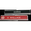 Gear/Locker Sign Holders