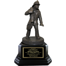 Advancing the Line Firefighter Statue