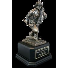 Responding Firefighter Statue