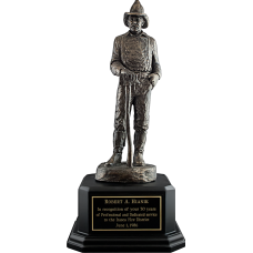 Smoke Eater Firefighter Statue