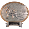 Oval Firefighter Award