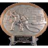 Oval Firefighter Award