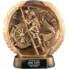 Gold-Tone Firefighter Award