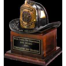 Bronze Fire Helmet Award