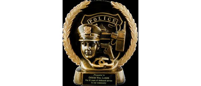 Gold Wreath Police Award