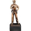 Copper-Tone Police Award