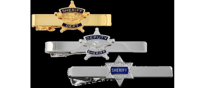 Sheriff Tie Bars