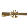 Firefighter Tie Bars with Cutout Rank Insignia