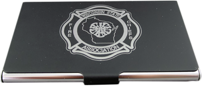 WSFCA Metal Business Card Holder