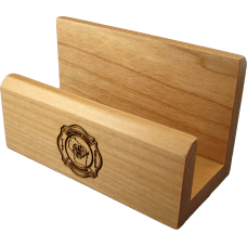 WSFCA Wood Card Holder