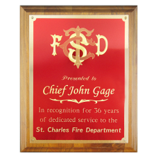 Small Engraved Plaque