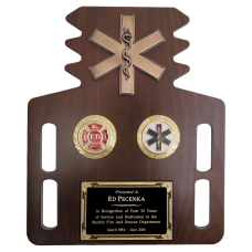 EMS Short Board Plaque with Disks