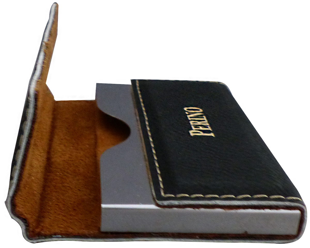 Leatherette business card holder custom leatherette business card holder reheart Choice Image