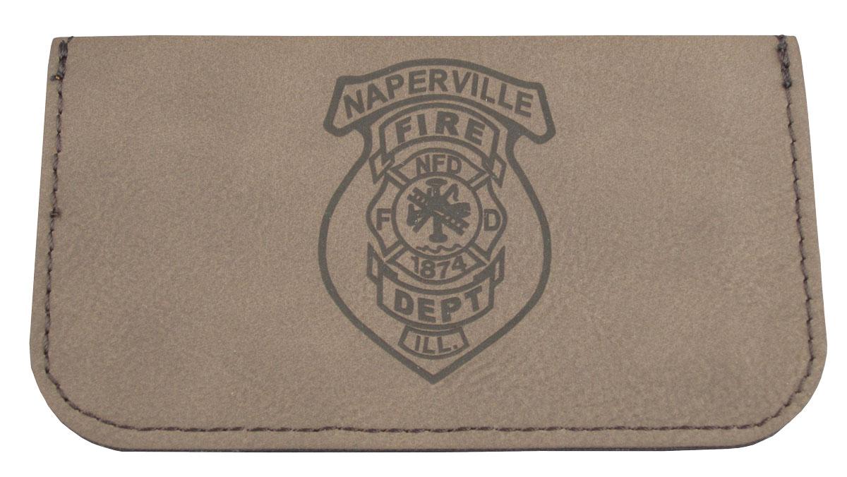 Leatherette Business Card Holder