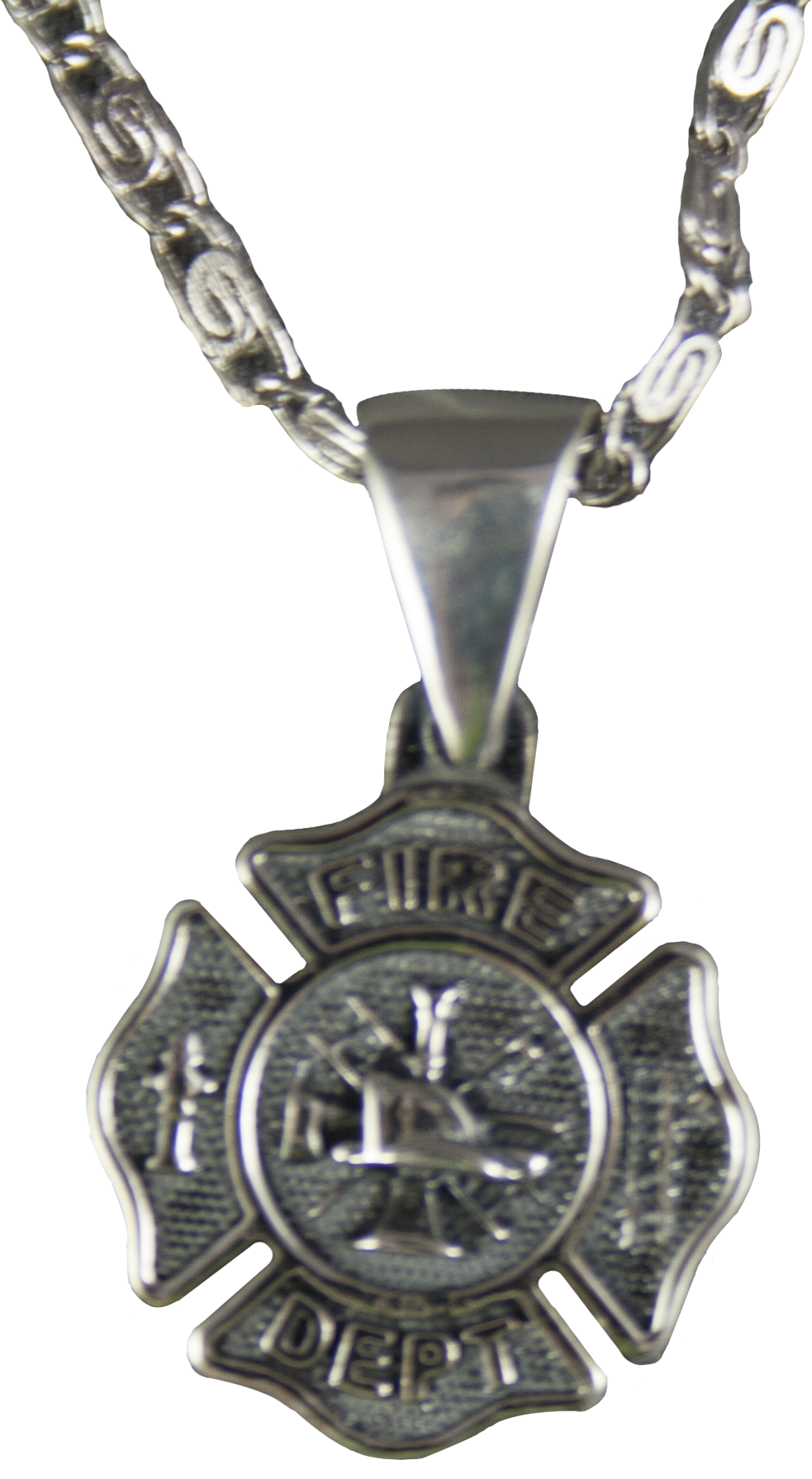 maltese htm wife p cross crystal firefighter our firefighters charm pendant s necklace